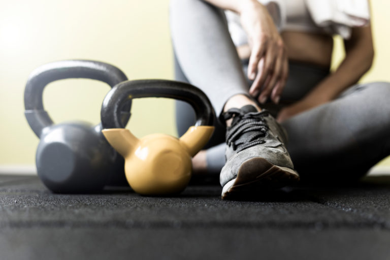 kettlebell workout, adaptive fitness, functional fitness, inclusive Adeo Athletic Center