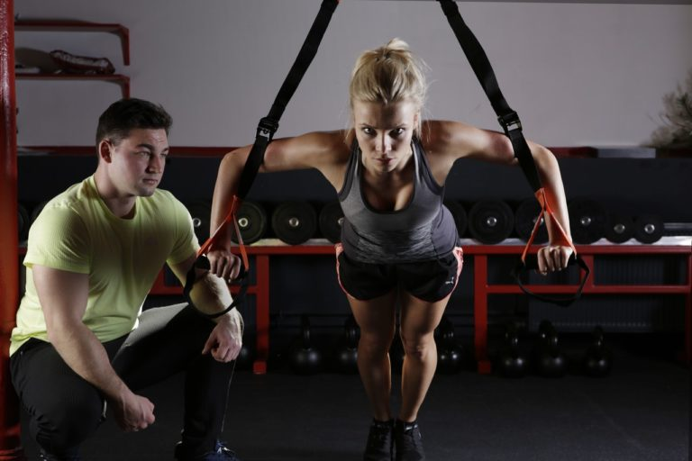 Gyms in Greeley - picture of two fitness members